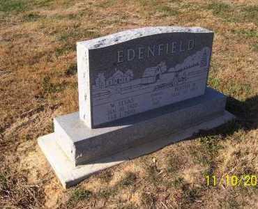 EDENFIELD, ELVAS - Adams County, Ohio   ELVAS EDENFIELD - Ohio Gravestone Photos