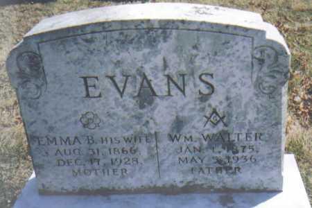 EVANS, EMMA B. - Adams County, Ohio | EMMA B. EVANS - Ohio Gravestone Photos