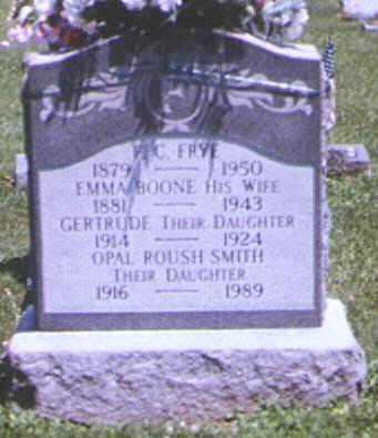 FRYE, GERTRUDE - Adams County, Ohio | GERTRUDE FRYE - Ohio Gravestone Photos