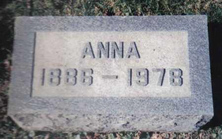 HAZELBAKER, ANNA - Adams County, Ohio | ANNA HAZELBAKER - Ohio Gravestone Photos