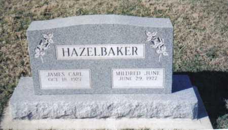 HAZELBAKER, MILDRED JUNE - Adams County, Ohio | MILDRED JUNE HAZELBAKER - Ohio Gravestone Photos