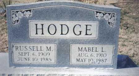 HODGE, RUSSELL M. - Adams County, Ohio   RUSSELL M. HODGE - Ohio Gravestone Photos