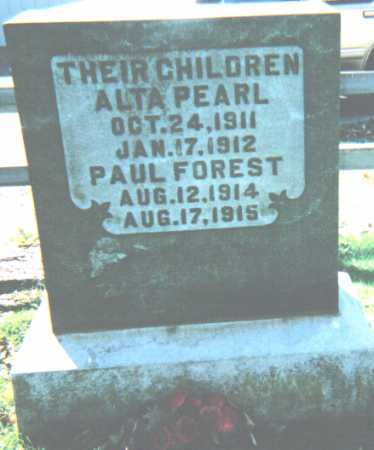 MCCARTY, PAUL FOREST - Adams County, Ohio | PAUL FOREST MCCARTY - Ohio Gravestone Photos
