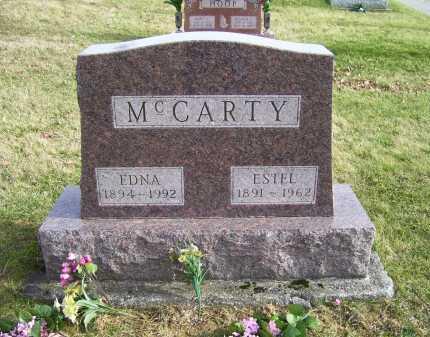 MCCARTY, ESTEL - Adams County, Ohio | ESTEL MCCARTY - Ohio Gravestone Photos