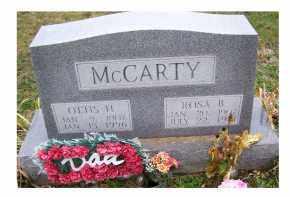 MCCARTY, ROSA B. - Adams County, Ohio   ROSA B. MCCARTY - Ohio Gravestone Photos