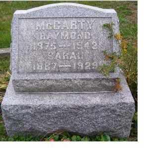 MCCARTY, SARAH - Adams County, Ohio | SARAH MCCARTY - Ohio Gravestone Photos