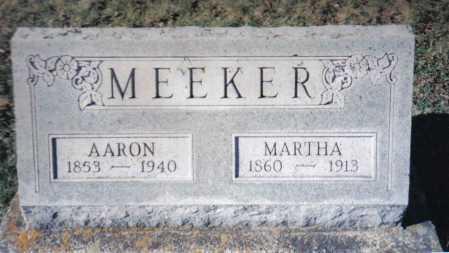 MEEKER, AARON - Adams County, Ohio | AARON MEEKER - Ohio Gravestone Photos