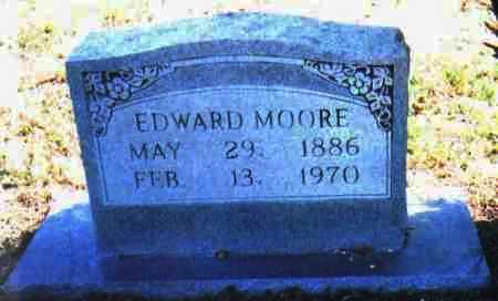 MOORE, EDWARD - Adams County, Ohio | EDWARD MOORE - Ohio Gravestone Photos