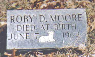 MOORE, ROBY D. - Adams County, Ohio   ROBY D. MOORE - Ohio Gravestone Photos