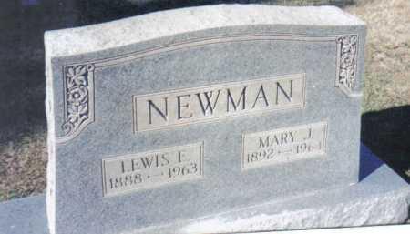 NEWMAN, MARY J. - Adams County, Ohio | MARY J. NEWMAN - Ohio Gravestone Photos