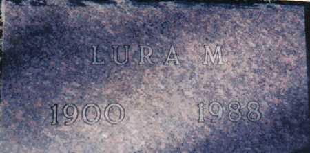 NEWMAN, LURA M. - Adams County, Ohio   LURA M. NEWMAN - Ohio Gravestone Photos