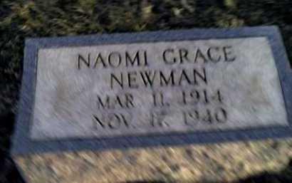 NEWMAN, NAOMI GRACE - Adams County, Ohio | NAOMI GRACE NEWMAN - Ohio Gravestone Photos