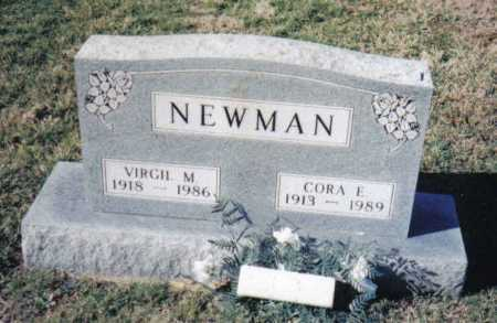 NEWMAN, VIRGIL M. - Adams County, Ohio | VIRGIL M. NEWMAN - Ohio Gravestone Photos