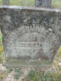 PUNTENNEY, GEO. H. - Adams County, Ohio   GEO. H. PUNTENNEY - Ohio Gravestone Photos