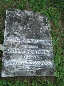 PUNTENNEY, JOHN - Adams County, Ohio   JOHN PUNTENNEY - Ohio Gravestone Photos