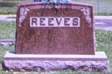 REEVES, CHARLES - Adams County, Ohio | CHARLES REEVES - Ohio Gravestone Photos