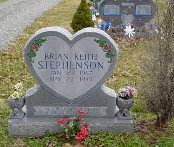 STEPHENSON, BRIAN KEITH - Adams County, Ohio | BRIAN KEITH STEPHENSON - Ohio Gravestone Photos