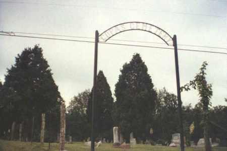 COPAS, CEMETERY ENTRANCE - Adams County, Ohio | CEMETERY ENTRANCE COPAS - Ohio Gravestone Photos