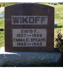 WIKOFF, DAVID F. - Adams County, Ohio   DAVID F. WIKOFF - Ohio Gravestone Photos