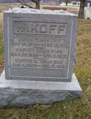 WIKOFF, CURTIS S. - Adams County, Ohio | CURTIS S. WIKOFF - Ohio Gravestone Photos