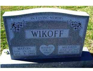 WIKOFF, MARVIN - Adams County, Ohio   MARVIN WIKOFF - Ohio Gravestone Photos