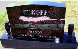 WIKOFF, RANDY - Adams County, Ohio   RANDY WIKOFF - Ohio Gravestone Photos