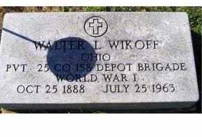 WIKOFF, WALTER L. - Adams County, Ohio   WALTER L. WIKOFF - Ohio Gravestone Photos