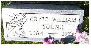 YOUNG, CRAIG WILLIAM - Adams County, Ohio   CRAIG WILLIAM YOUNG - Ohio Gravestone Photos