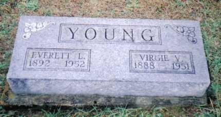 YOUNG, EVERETT L. - Adams County, Ohio | EVERETT L. YOUNG - Ohio Gravestone Photos