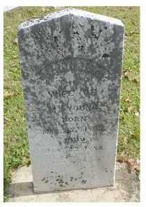 YOUNG, HANNAH K. - Adams County, Ohio   HANNAH K. YOUNG - Ohio Gravestone Photos