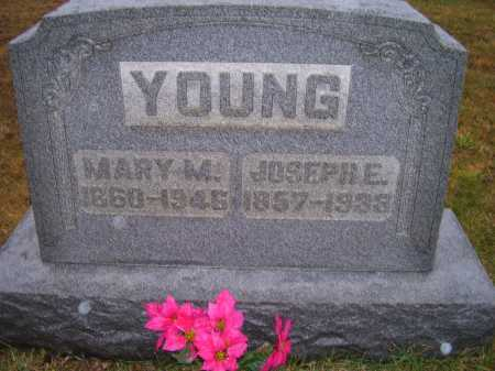 YOUNG, MARY M. - Adams County, Ohio | MARY M. YOUNG - Ohio Gravestone Photos