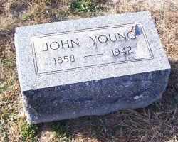 YOUNG, JOHN - Adams County, Ohio   JOHN YOUNG - Ohio Gravestone Photos