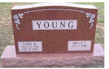 YOUNG, WILLA L. - Adams County, Ohio   WILLA L. YOUNG - Ohio Gravestone Photos