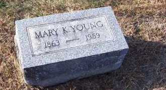 KENDALL YOUNG, MARY - Adams County, Ohio   MARY KENDALL YOUNG - Ohio Gravestone Photos