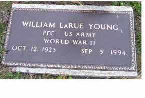 YOUNG, WILLIAM LARUE - Adams County, Ohio | WILLIAM LARUE YOUNG - Ohio Gravestone Photos
