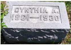 MCCANN, CYNTHIA A. - Adams County, Ohio   CYNTHIA A. MCCANN - Ohio Gravestone Photos