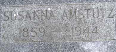 AMSTUTZ, SUSANNA - Allen County, Ohio | SUSANNA AMSTUTZ - Ohio Gravestone Photos