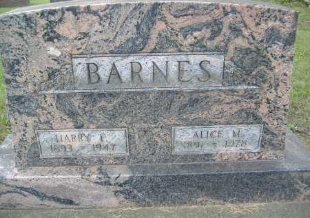 BARNES, HARRY F. - Allen County, Ohio   HARRY F. BARNES - Ohio Gravestone Photos