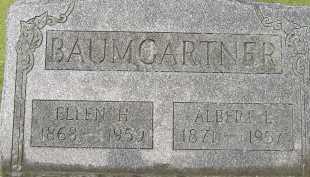 BAUMGARTNER, ELLEN - Allen County, Ohio | ELLEN BAUMGARTNER - Ohio Gravestone Photos