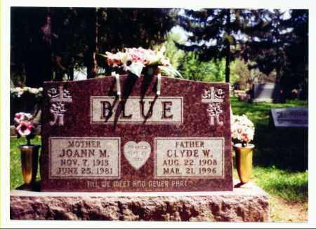 BLUE, JOANN - Allen County, Ohio | JOANN BLUE - Ohio Gravestone Photos