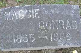 CONRAD, MAGGIE - Allen County, Ohio | MAGGIE CONRAD - Ohio Gravestone Photos