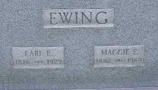 EWING, EARL E. - Allen County, Ohio | EARL E. EWING - Ohio Gravestone Photos