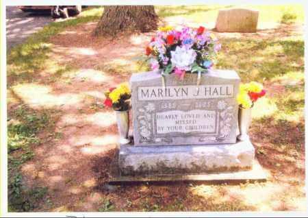 BLUE HALL, MARILYN - Allen County, Ohio | MARILYN BLUE HALL - Ohio Gravestone Photos