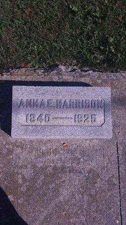 HARRISON, ANNA E. - Allen County, Ohio   ANNA E. HARRISON - Ohio Gravestone Photos
