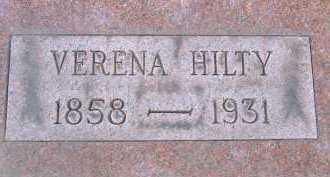 HILTY, VERENA - Allen County, Ohio | VERENA HILTY - Ohio Gravestone Photos