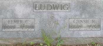 LUDWIG, GUSSIE M. - Allen County, Ohio | GUSSIE M. LUDWIG - Ohio Gravestone Photos