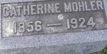 MOHLER, CATHERINE - Allen County, Ohio | CATHERINE MOHLER - Ohio Gravestone Photos