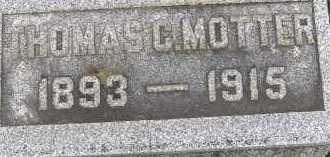 MOTTER, THOMAS C. - Allen County, Ohio | THOMAS C. MOTTER - Ohio Gravestone Photos