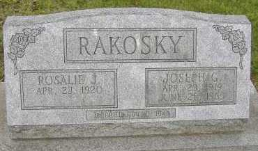 RAKOSKY, JOSEPH G. - Allen County, Ohio | JOSEPH G. RAKOSKY - Ohio Gravestone Photos