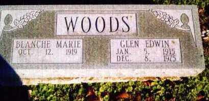 WOODS, GLEN - Allen County, Ohio | GLEN WOODS - Ohio Gravestone Photos